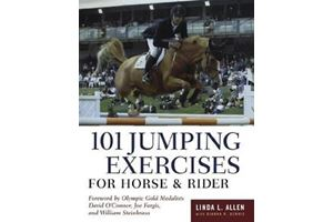 BOEK - 101 JUMPING EXERCISES FOR HORSE AND RIDER