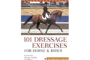 BOEK - 101 DRESSAGE EXERCISES FOR HORSE AND RIDER